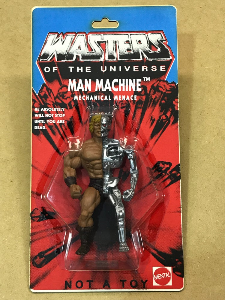 Image of WASTERS of the UNIVERSE - MAN MACHINE