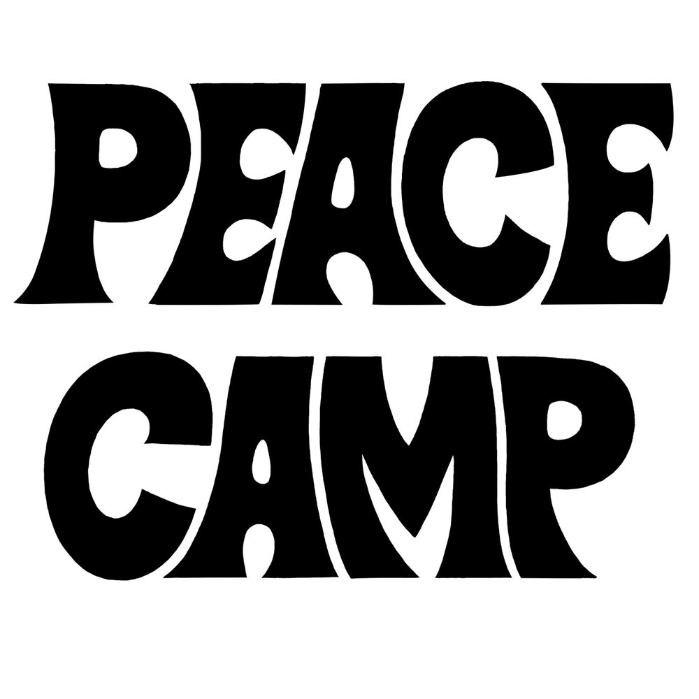 Image of PEACE CAMP TEE