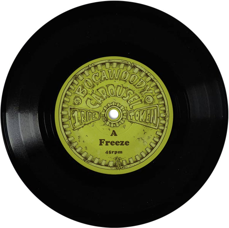 "Image of Freeze / Rockin Ya Block (The Allergies Remix) - 7"" VINYL"