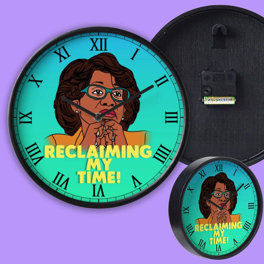 Image of Reclaim It (Wall Clock)