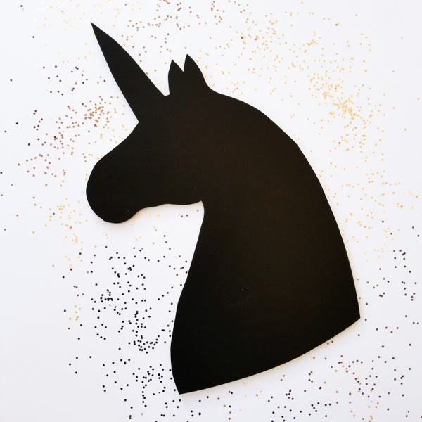 Image of Unicorn Chalkboard