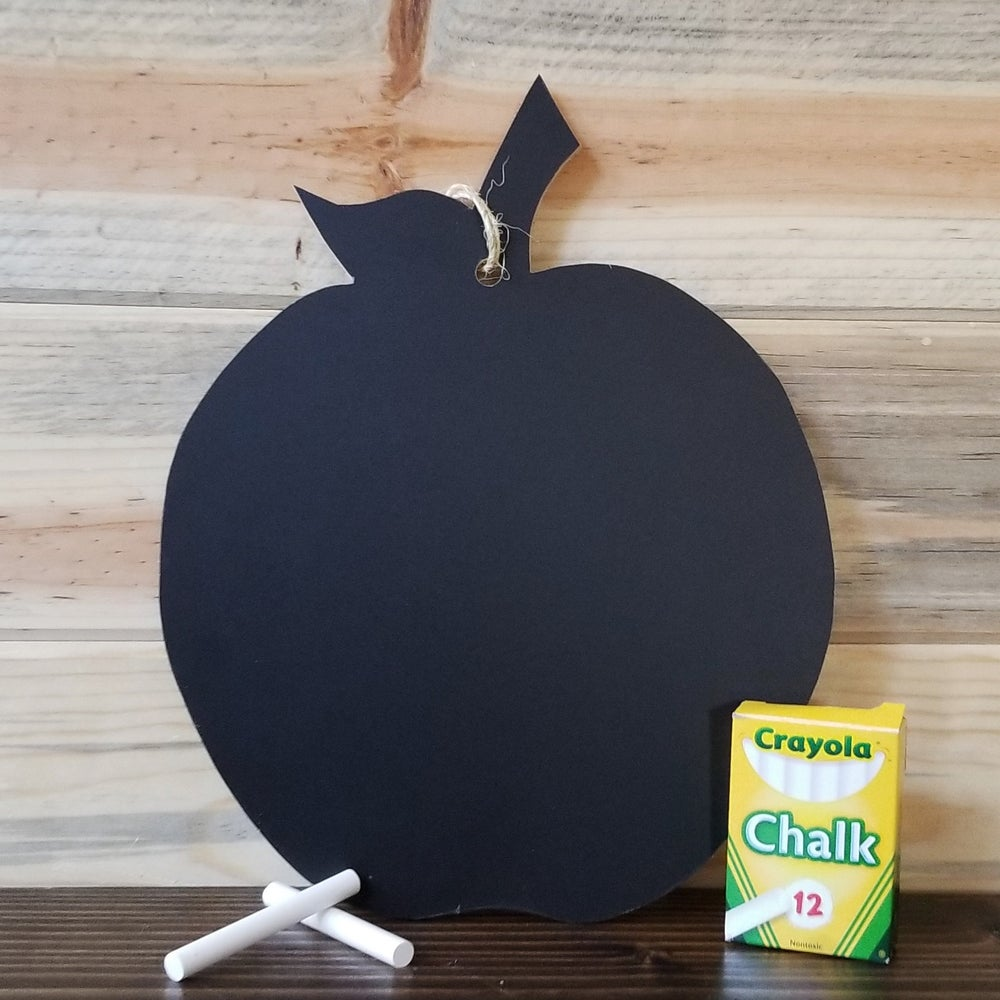 Image of **Back to School Special** Hanging Apple Chalkboard