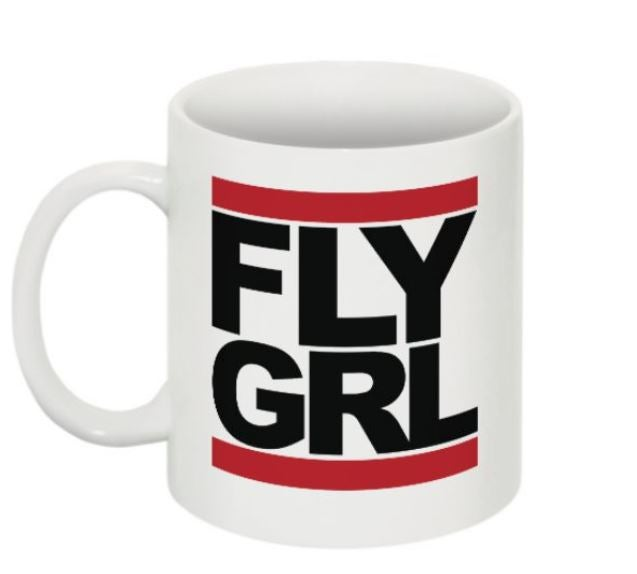 Image of FLY GRL Ceramic Mug