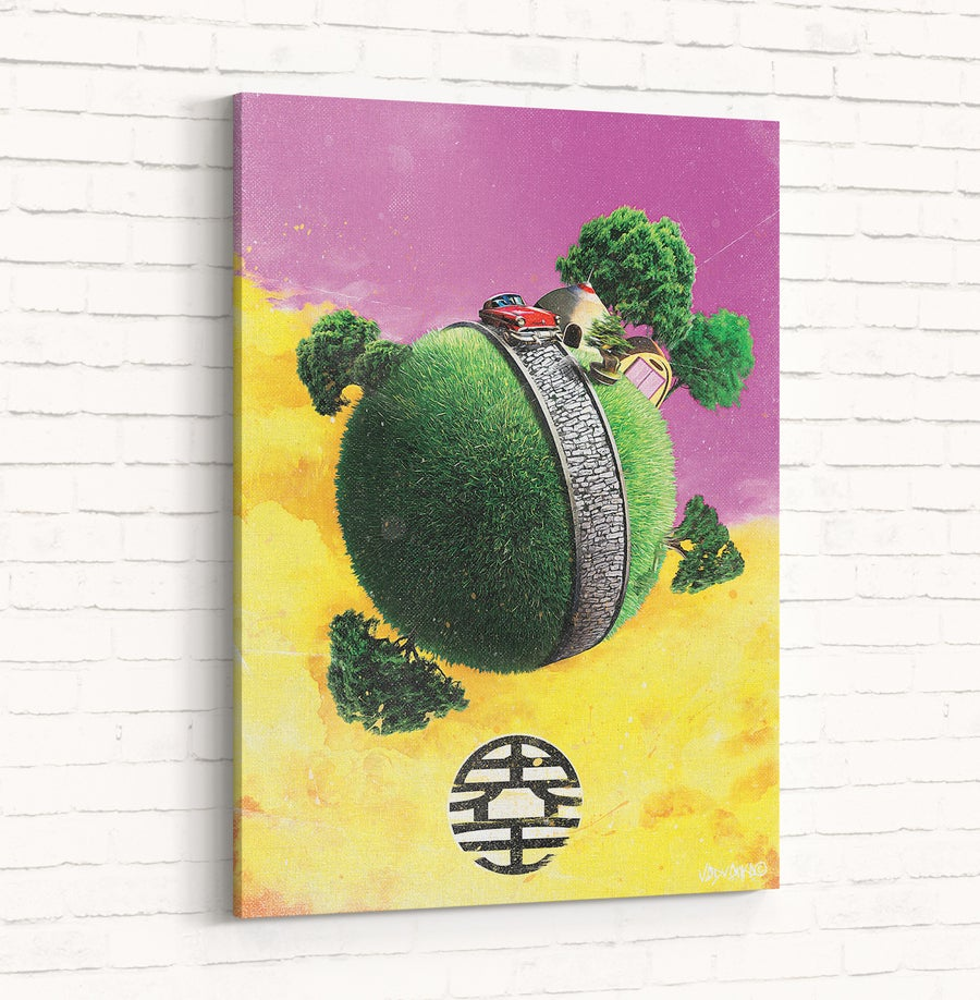 Image of Original Canvas : Kaio Sama House