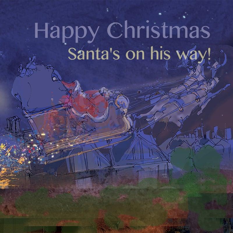 Image of Santa's Bicycle - Sleigh journey