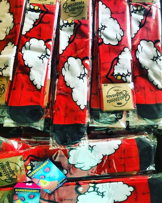 Image of Just IN!!! Phone Homie x GRC Stoned Immaculate Socks!