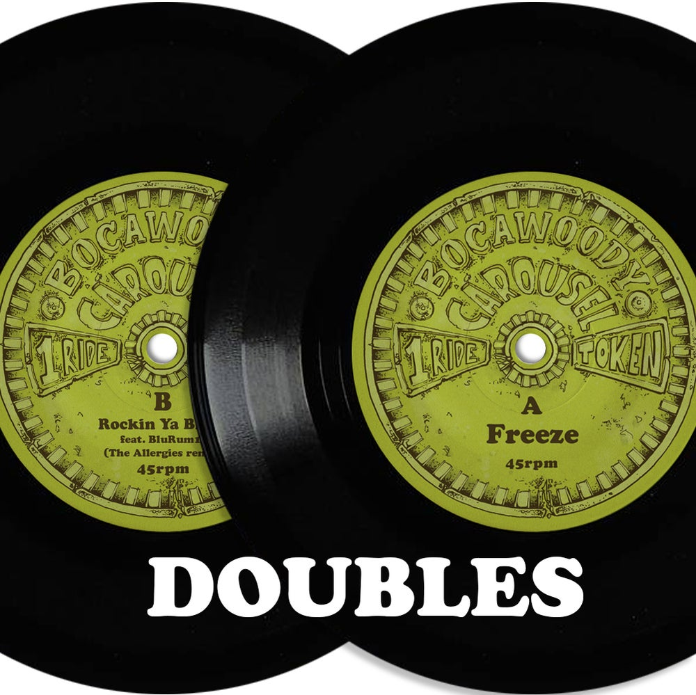 "Image of Freeze / Rockin Ya Block (The Allergies Remix) - 7"" VINYL DOUBLES (2 copies)"
