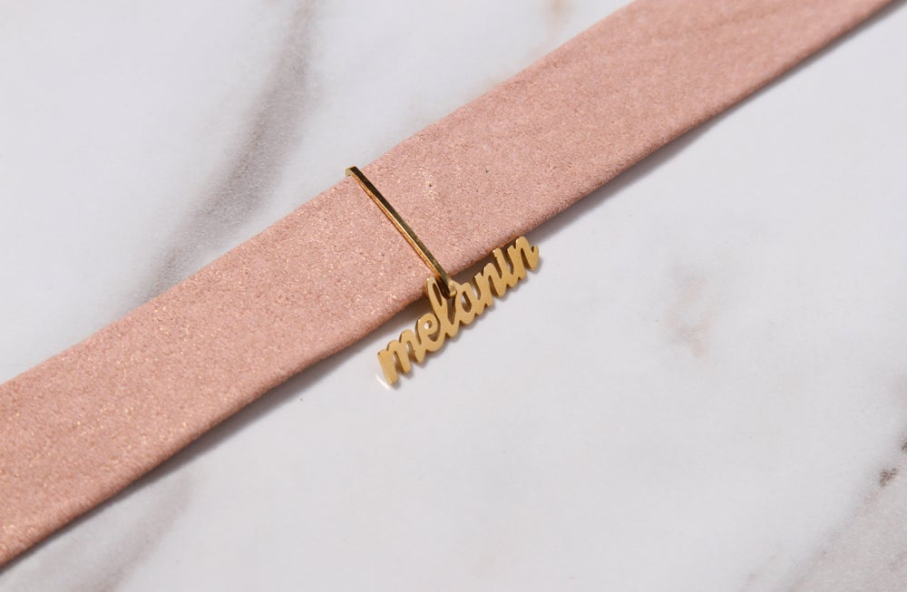 Image of Limited Edition Champagne Pink Choker