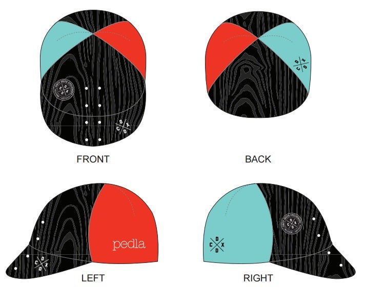 Image of DDCX x Pedla Cycling Caps