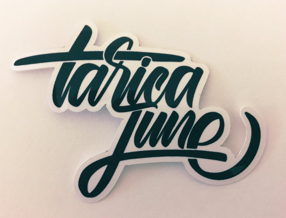 Image of Tarica June Logo Sticker