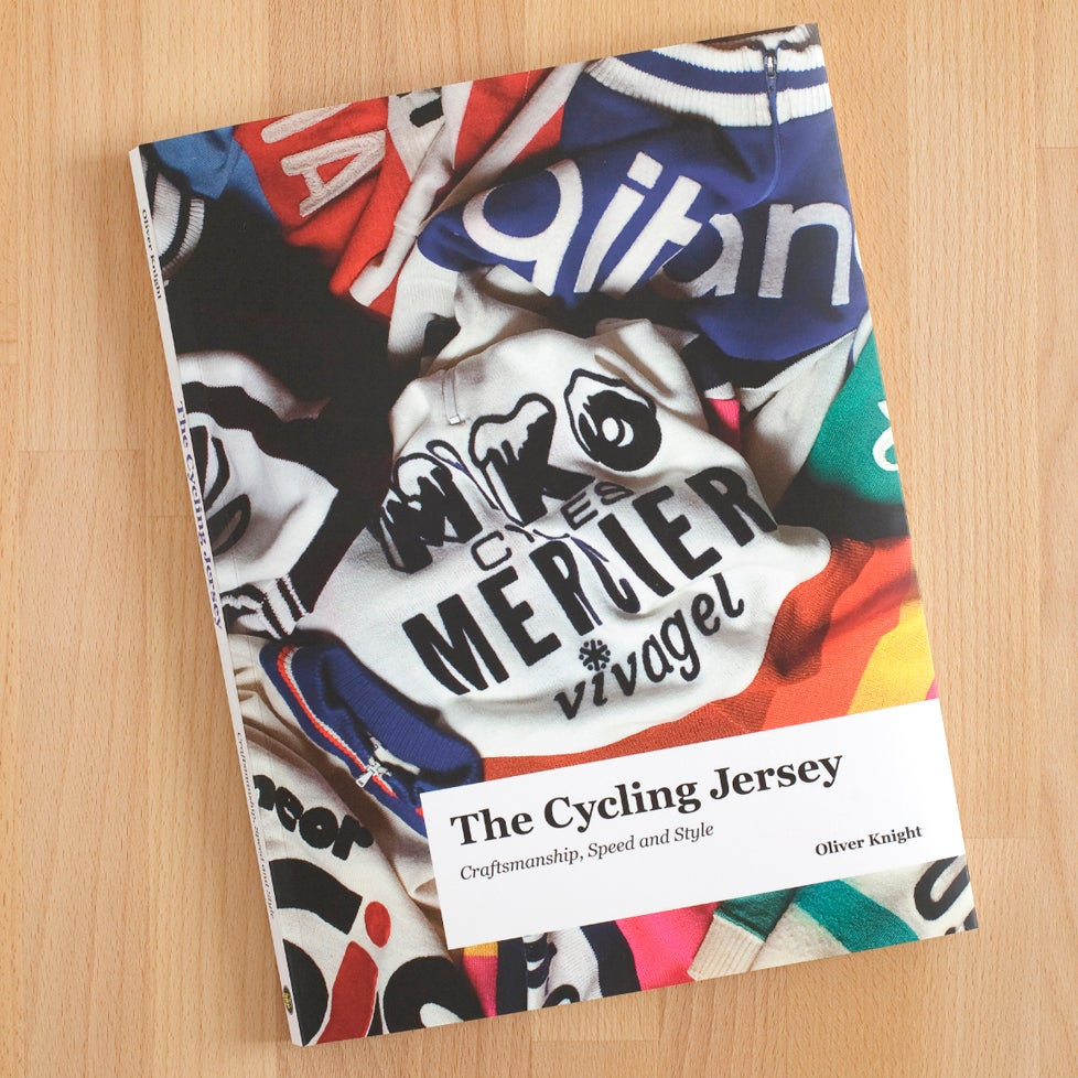 Image of 'The Cycling Jersey - Craftsmanship, Speed & Style' Hardback Book