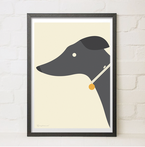 Image of Different Breeds - Greyhound