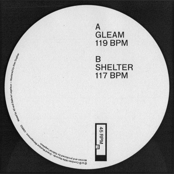Image of Gleam / Shelter EP - vinyl