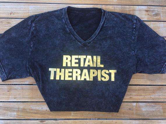 Image of Retail Therapist Women's Brunch Tee