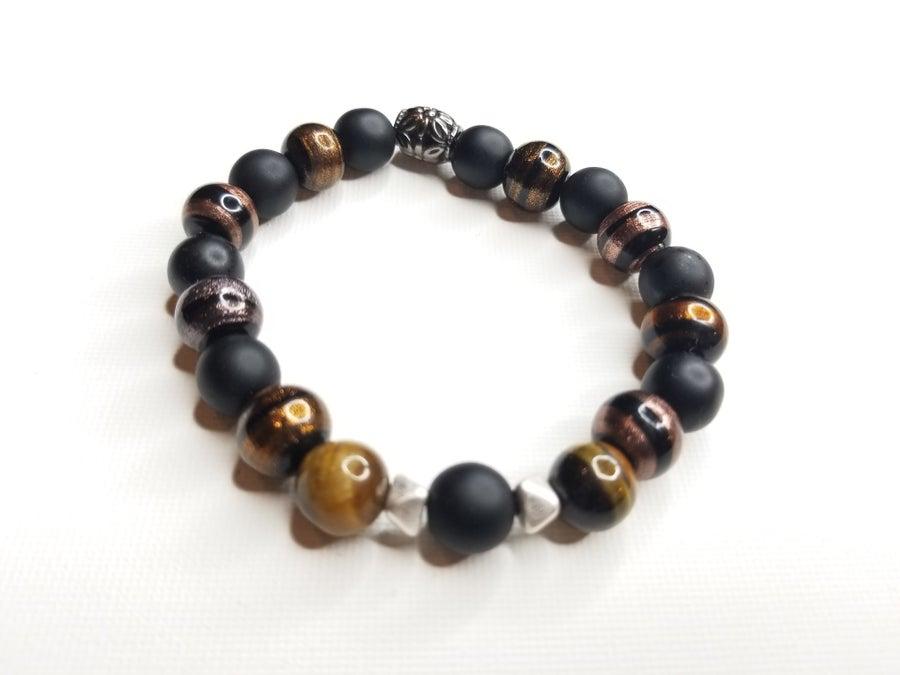 Image of Men's Multi Stone Bracelet