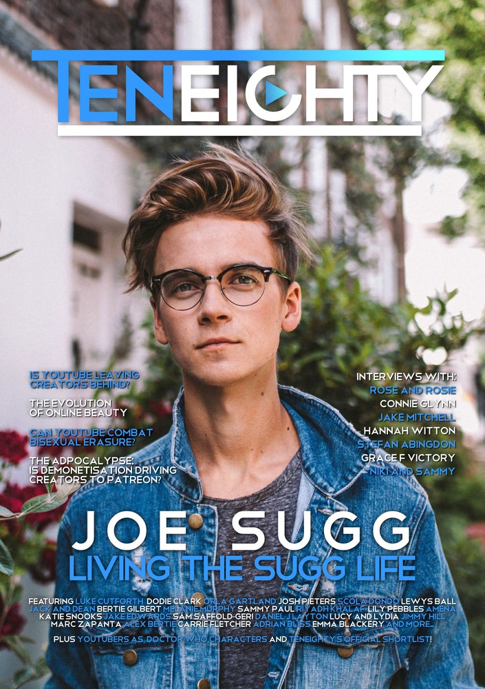 Image of <b>Pre-Order:</b> TenEighty Magazine Issue 04 (August 2017)