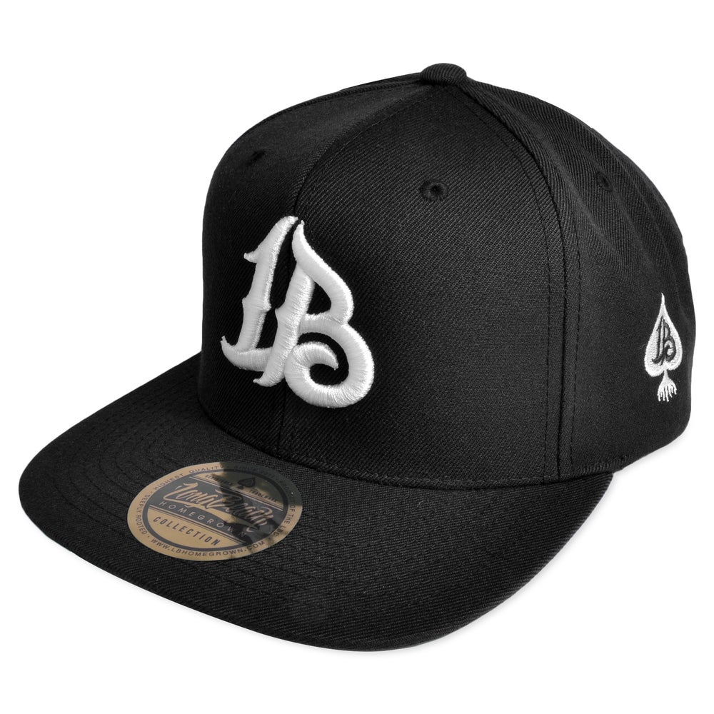 Image of LBLOGO BLACK/WHITE SNAPBACK