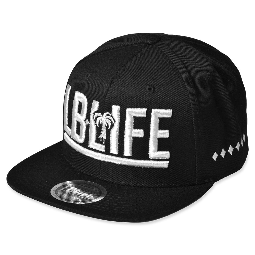 Image of 6D LBLIFE BLACK/WHITE SNAPBACK
