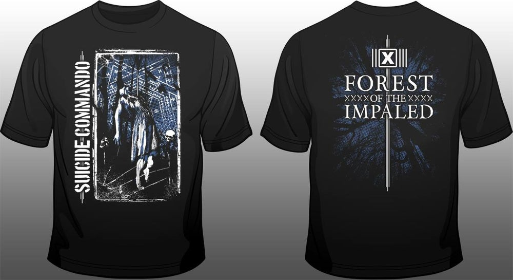 Image of SUICIDE COMMANDO forest of the impaled shirt