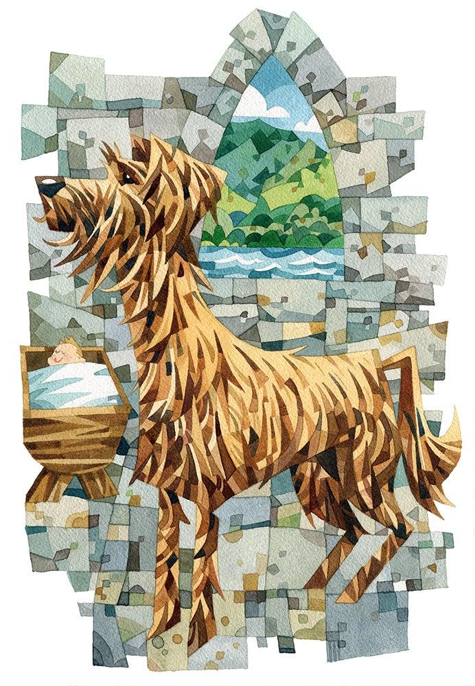 Image of Welsh Legends Watercolour prints
