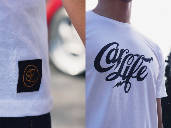 Image of Car Life White Tee
