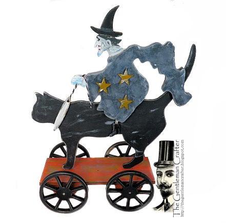 Image of Halloween Cat Cart Kit