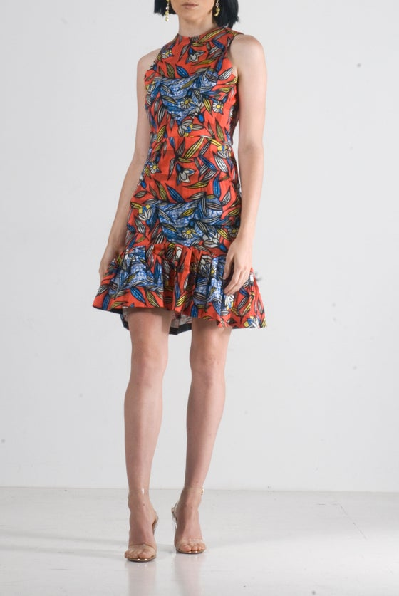 "Image of ""Fey"" floral mini dress"