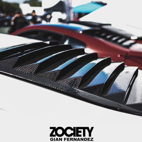 Image of 370Z & 350Z ZAKUSTECH CARBON FIBER LOUVERS