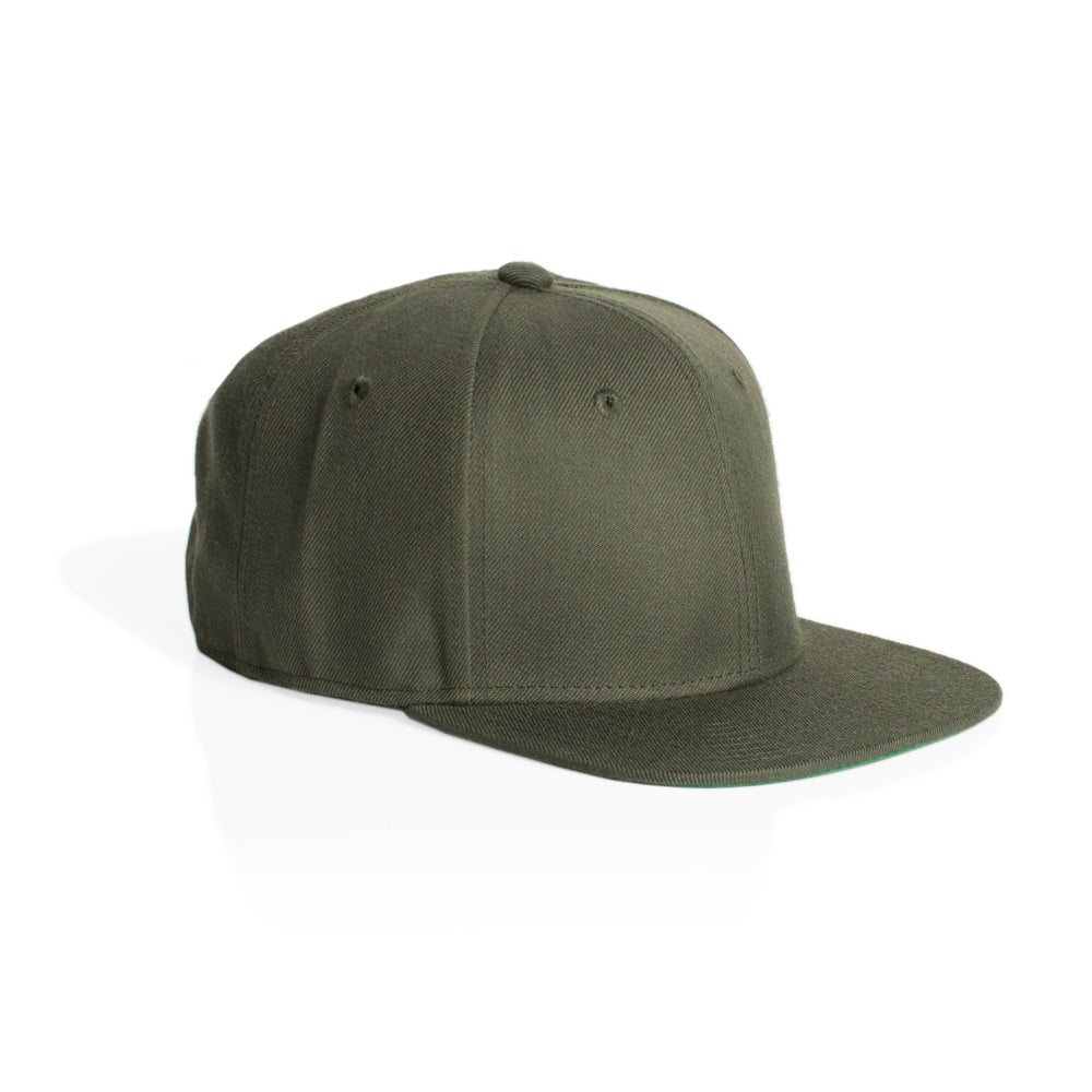 Image of TRIM SNAPBACK CAP - ARMY
