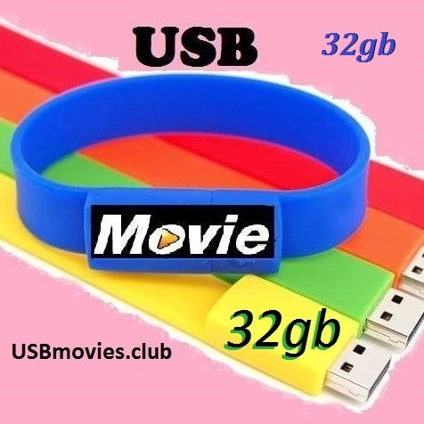 Image of USBmovies.club WristBand 32GB