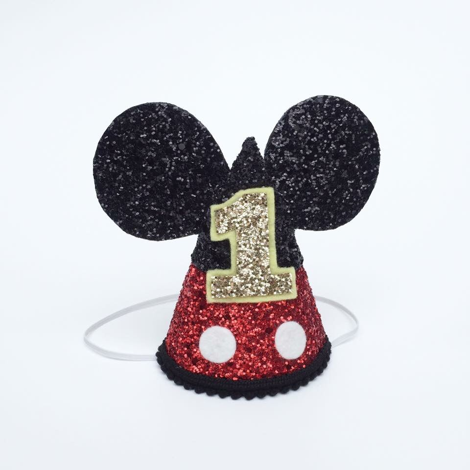 Image of Mickey Mouse Birthday Hat