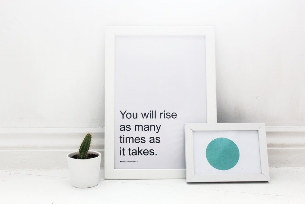 Image of You Will Rise - Frameless Decor Print