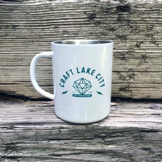Image of Craft Lake City Diamond Camp Mug