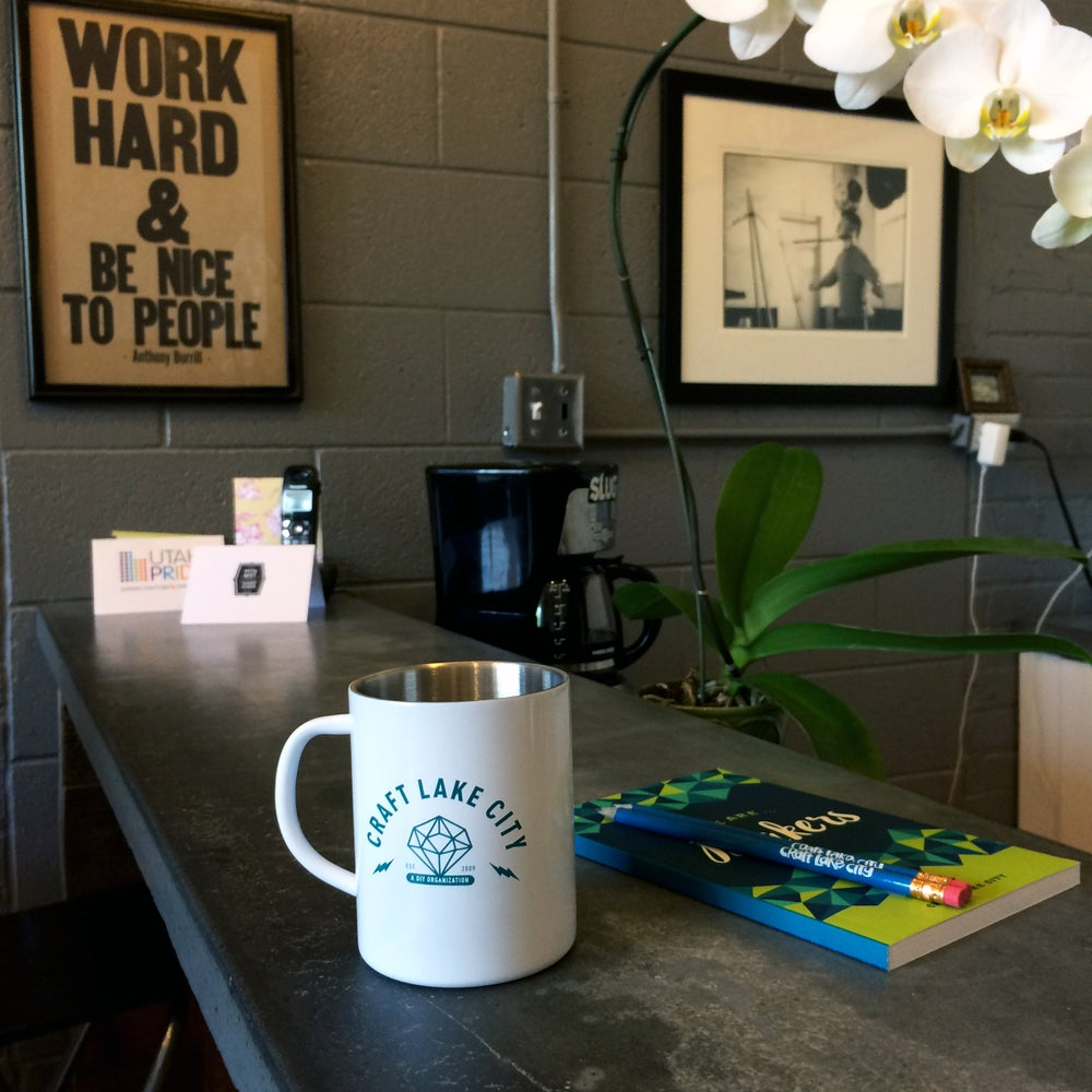 Image of Craft Lake City Diamond Camp Mug