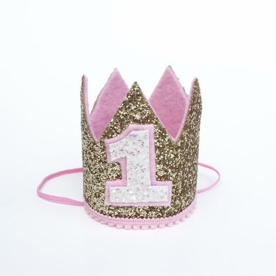 Image of Birthday Crown | Baby first birthday crowns