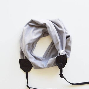 Image of Scarf Camera Straps Knit Stretch Comfortable Fit Top Photographer Gift 2018