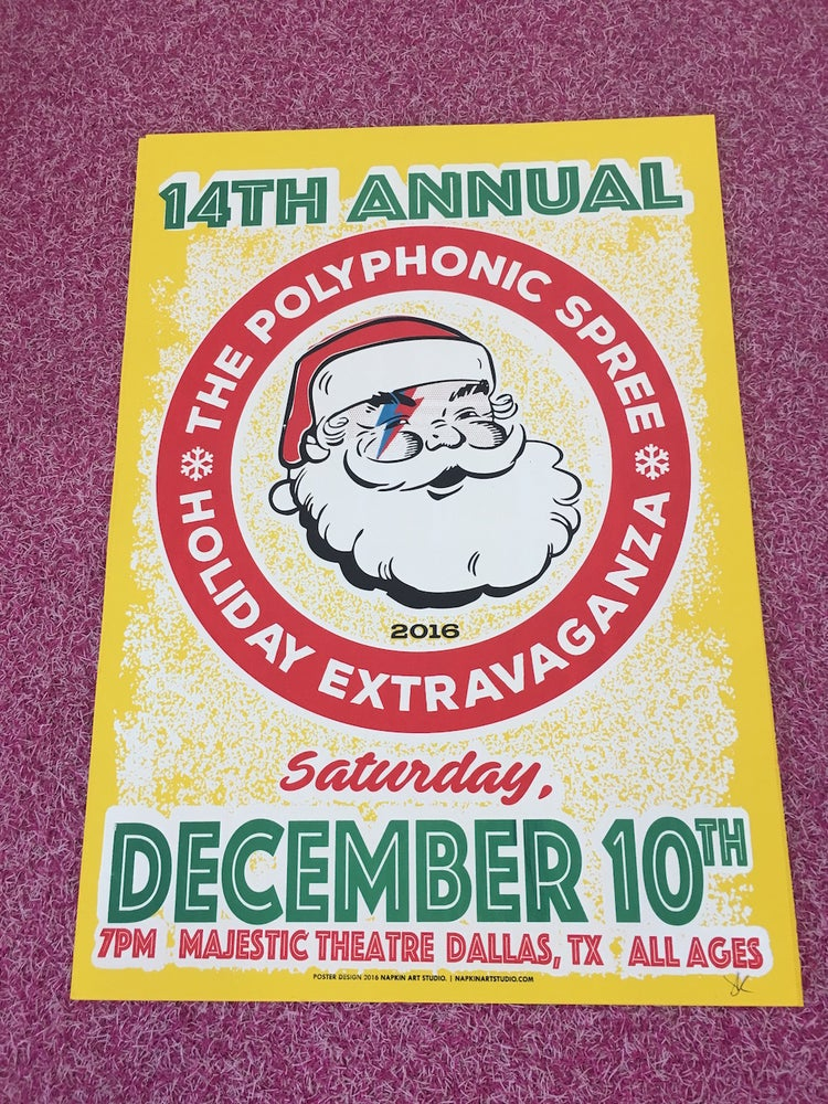 Image of 14th Annual Holiday Extravaganza Poster
