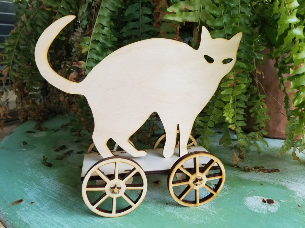 Image of Halloween Scaredy Cat Cart Kit