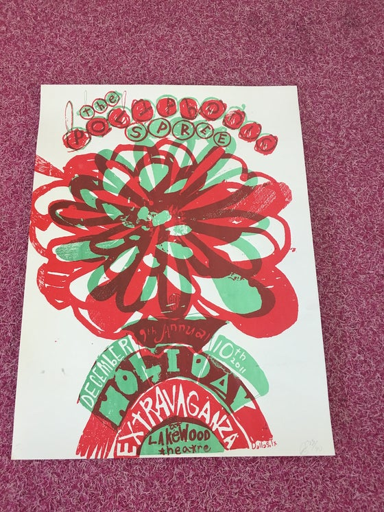 Image of 9th Annual Holiday Extravaganza Poster (Nevada)