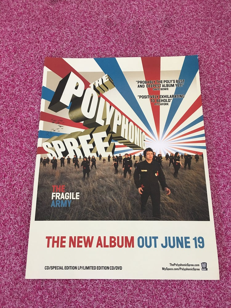 Image of Fragile Army Promo Poster