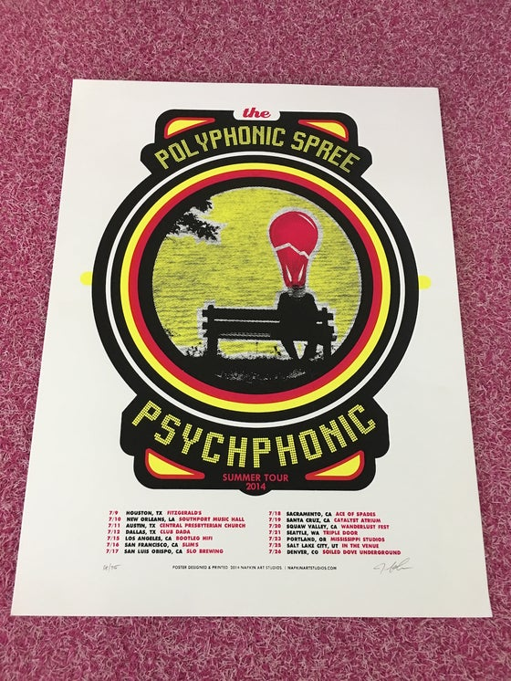 Image of Psychphonic Summer Tour 2014