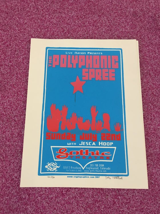 Image of Englewood, CO Gothic Theatre Poster