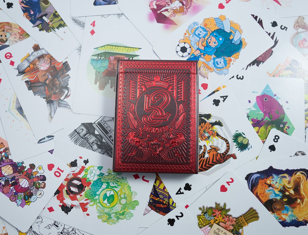 Image of 52 Tales Playing Cards