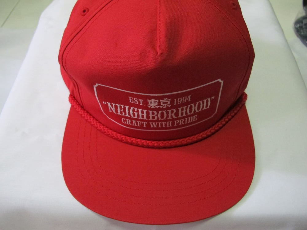 Image of Neighborhood - Bar Cap (Red)