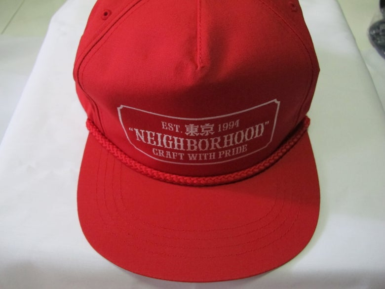 Image of Neighborhood - Bar Cap (Red)