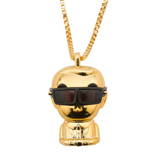 Image of Karl Lagerdeld x Tokidoki Pendant Watch Necklace