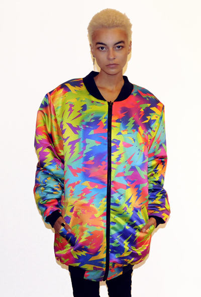 Image of Lightning Color Splash reversible jacket