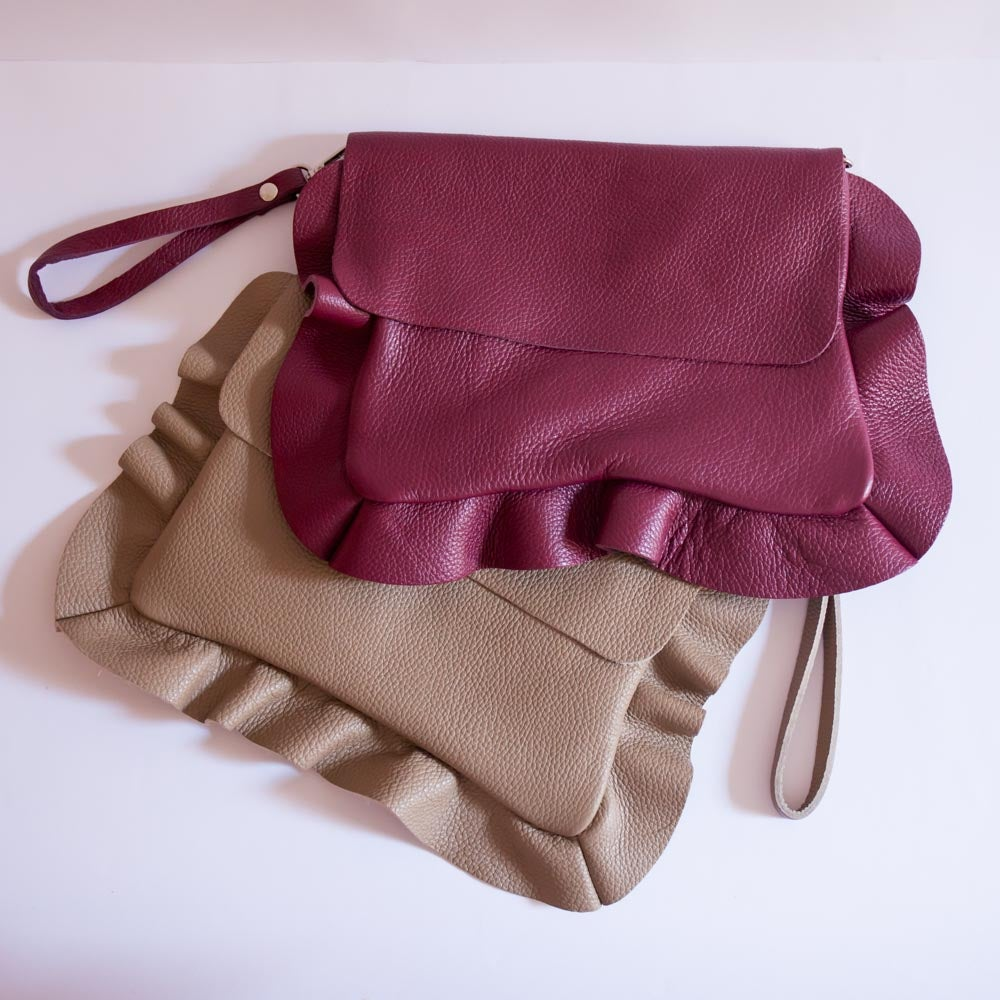 Image of Becca Bag | Beige & Bordeaux