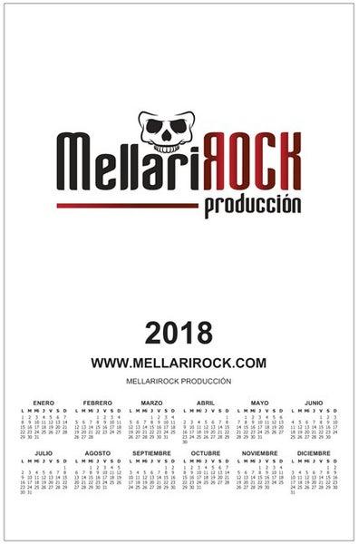 Image of Calendario Mellarirock Producciones