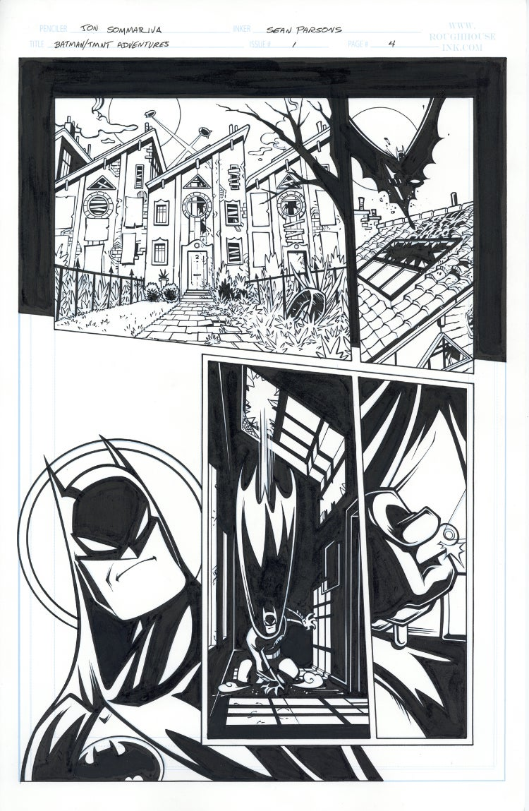Image of Batman TMNT Adventures 1 Page 04